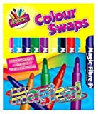 10PK Magic Colour Swap fibre penne