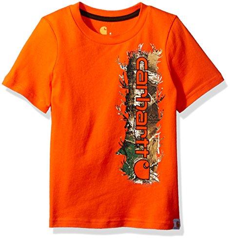 Jungen Carhartt T-shirts (Carhartt Jungen   T-Shirt  -  orange - )