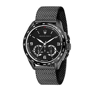 Reloj para Hombre, Colección Traguardo, con Movimiento de Cuarzo y función cronógrafo, en Acero y pvd Negro – R8873612031