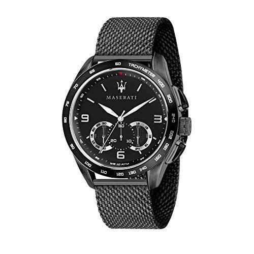 Maserati Reloj Analógico para Hombre de Cuarzo con Correa en Acero Inoxidable R8873612031