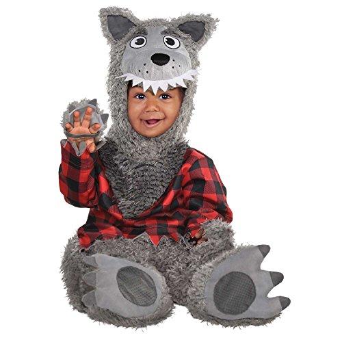 Kostüm Wolf Baby - Baby Wolf Kostüm - Baby Wolf, 68-74