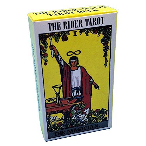 Ocamo Cartas de Tarot en inglés completo,Cartas de Tarot en Tarot Smith y Caballeros
