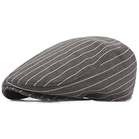 Herren Flatcap Schiebermütze - iParaAiluRy Gatsby Mütze Schirmmütze für Männer - Stylischer Berets Hat, Cabbie (Kind Blau-ara-kostüm)