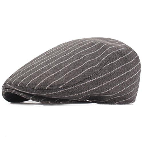 Herren Flatcap Schiebermütze - iParaAiluRy Gatsby Mütze Schirmmütze für Männer - Stylischer Berets Hat, Cabbie (Kostüm Ara Roter)