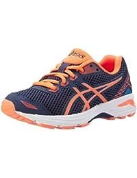 Asics Gt-1000 5 Gs, Zapatos para Correr Unisex Niños, Azul