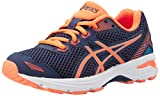 ASICS GT 1000 5 GS, Chaussures de Running garçon, Bleu (Indigo Hot Orange/Thunder Blue), 38 EU