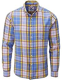 Charles Wilson Camisa Franela de Cuadros Manga Larga para Hombre 809fbe0d8ba
