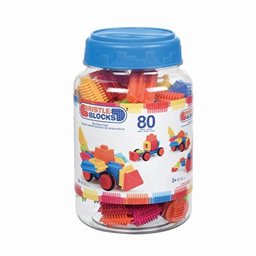 Bristle Blocks 3102Z - Baukästen, 80 Stück, Mehrfarbig