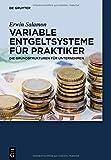 Image de Variable Entgeltsysteme für Praktiker: Die Grundstrukturen für Unternehmen (De Gruyter Praxishandbuch)