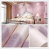 HQYXGS Papier Peint intissé Rose Pissenlit, Pastorale Les Enfants Chambre à Coucher...