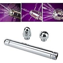 , 3cabezales de ducha Enema Enema de aluminio limpiador de ducha anal vaginal, profundidad ducha Enema/Trade sistema de limpieza