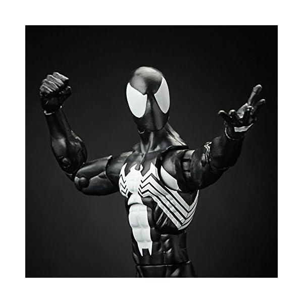 Marvel Spiderman Serie Legends Symbiote Spiderman, de 15,24 cm, diseño de Spider-Man 6