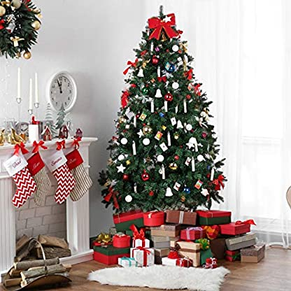 MVPOWER-Weinachten-LED-Kerzen-Kabellos-Warmwei-Weihnachtskerzen-Christbaumkerzen-Dimmen-Flackern-Baumkerze-SetLED-Lichtfarbe-Warmwei