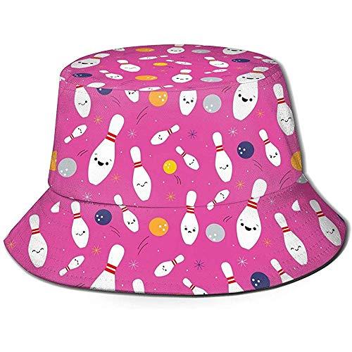 Well I do! Bucket Hat Happy Bowling Party Eimer Hut Sommer Uv Sun Fisherman Cap Unisex für Reisen Strand im Freien