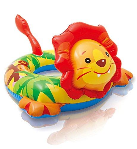 *Grande bouée enfant avec tête de Lion – gonflable pour baignade – dimensions 72 x 66 cm Liste de prix