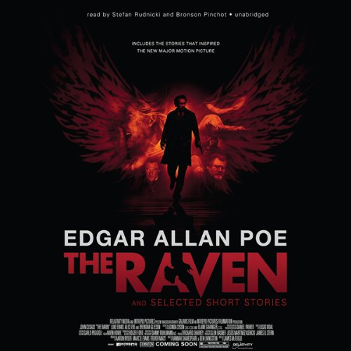 The Raven and Selected Short Stories  Audiolibri