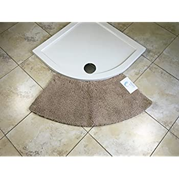 cazsplash luxury quadrant small curved shower mat. Black Bedroom Furniture Sets. Home Design Ideas