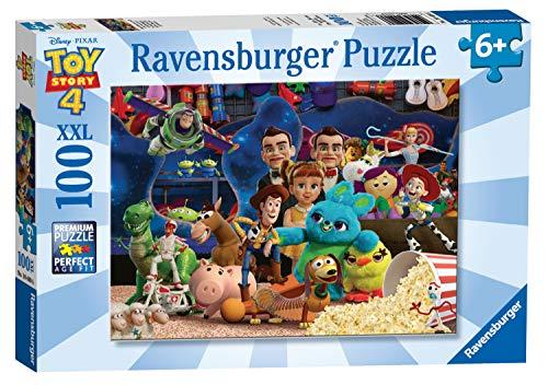 104086 100 Teile XXL 4 Disney, Puzzle, Kopfbrett, Kinder, Jungen, Spielzeug Mädchen 3 Jahre, Spiele, Toy Story, Woody, Buzz, Jessie, 4005556104086 ()