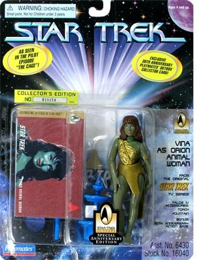 Star Trek Vina as Orion Animal Woman 4.5 Action Figure by Star Trek