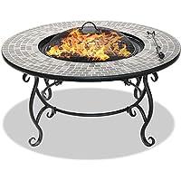 Centurion Supports fireology Ginessa jardín calentador/Fire Pit/mesa de café/barbacoa/