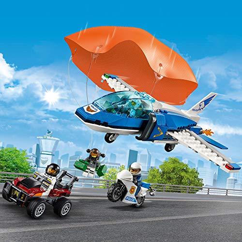 LEGO City - L'arrestation en parachute - 60208 - Jeu de construction