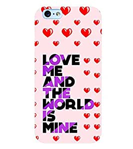 Printtech Love Quotes Original Soft Shockproof Back Case Cover for Apple iPhone 6 Plus / iPhone 6s Plus