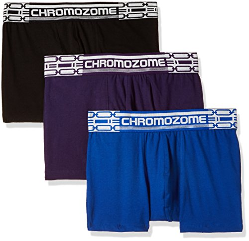 Chromozome Men's Cotton Boxer (Pack of 3) (8902733347327_CR2_Plumblkblu_S)  available at amazon for Rs.430
