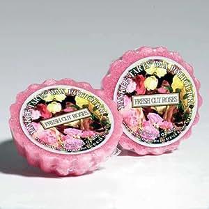 Moules tartelettes fresh cut bougie yankee candle de roses