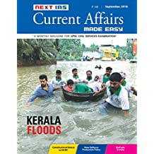 Current Affairs MADE EASY:Sept, 2018