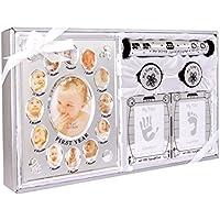 Nuevo 5 piezas Set de regalo de recuerdo de bebé apto para unisex, niño,