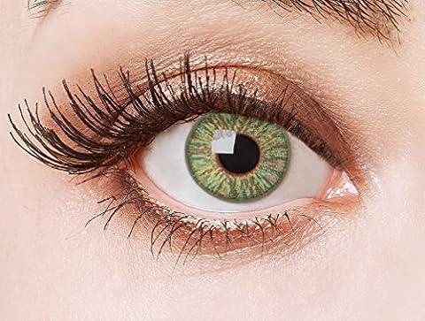 Couleur des lentilles de contact naturelles Tempting Glow de aricona