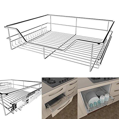 tomasa teleskopschublade k che 40 50 60cm k chenschublade. Black Bedroom Furniture Sets. Home Design Ideas
