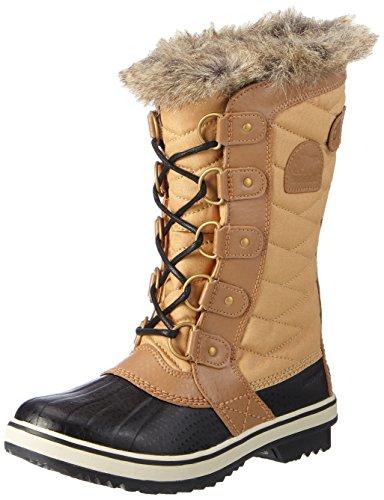 Sorel Damen Tofino II Schneestiefel, Braun (Curry/Fawn), 38 EU (Damen-ski-stiefel Wildleder)