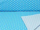 Swafing Jersey Sterne Blau/Weiss Öko-Tex Standard 100 (ab 25cm x 160cm)
