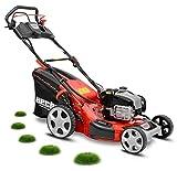 HECHT Benzin-Rasenmäher 5534 INSTART Briggs & Stratton Rasenmäher + Elektro-Start Funktion (4,4 kW (6,0 PS), 51 cm, 60 Liter, Radantrieb)