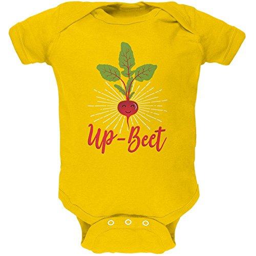 Old Glory Gemüse Beet optimistisch Up-Rüben weiches Baby Einteiler gelb 18-24 M