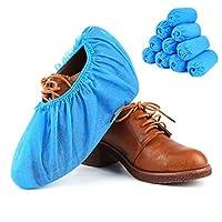 Aurum Creations Non Woven Disposable Shoe Cover (100 Pieces)