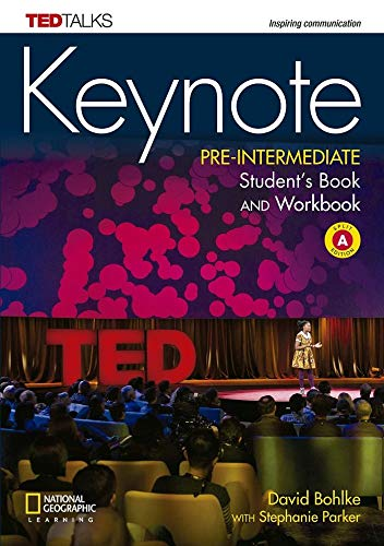 Keynote A2.2/B1.1: Pre-Intermediate - Student's Book and Workbook (Combo Split Edition A) + DVD-ROM: Unit 1-6 por David Bohlke