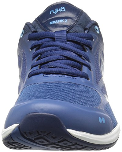 Ryka Womens Grafik 2 Cross-Trainer Shoe Navy/Blue