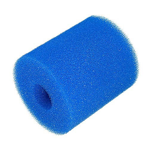 Wuchance Wiederverwendbare waschbare Schwimmbad-Filter-Schaum-Schwammkartusche für Intex Typ H