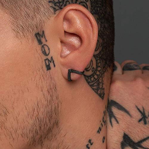 Herren Ohrstecker für Männer, Herren Ohrringe, Geschenk für Männer, 925 Sterling Silber Ohrringe. Männer Geschenk für Freund, Herren Ohrstecker