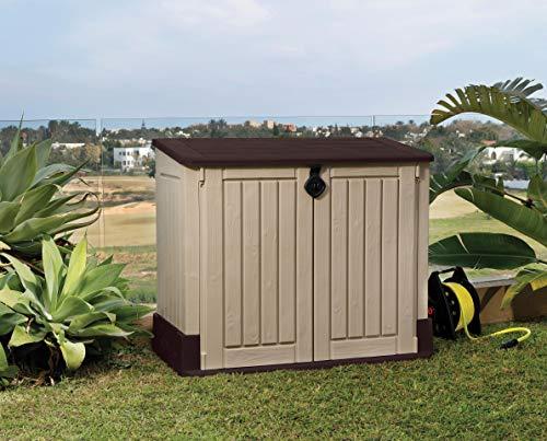 Keter 17197253 Aufbewahrungsbox Woodland, Kunststoff, Beige/Light Maroon - 9
