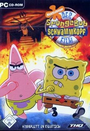 Der Spongebob Schwammkopf Film, 1 CD-ROM Für Windows 98/ME/2000/XP (Spongebob Pc Film)