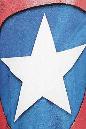 Captain America Logo T-Shirt weiß Weiß
