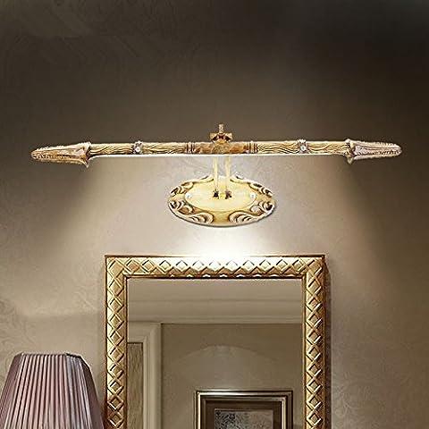 XiangMing Antes de que la luz del espejo , Medio antioxidante humedad cálida luz LED 60cm largo