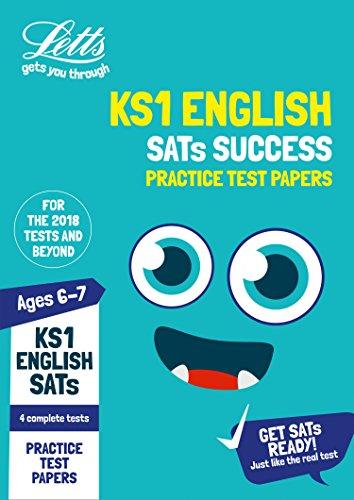 KS1 English SATs Practice Test Papers: 2018 tests (Letts KS1 SATs Success)