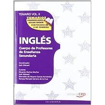 Cuerpo de Profesores de Enseñanza Secundaria. Inglés. Temario Vol. II.: 2 (Profesores Eso 2012 (cep))