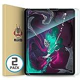 Manto, pellicola protettiva per iPad Pro da 11 pollici, in vetro temperato, durezza 9H, compatibile con iPad Pro da 11 pollici, senza bolle d'aria