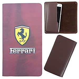 DooDa - For Lava iris 502 PU Leather Designer Fashionable Fancy Case Cover Pouch With Smooth Inner Velvet