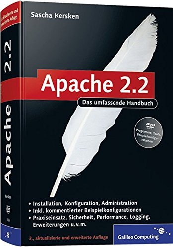 Apache 2: Skalierung, Performance-Tuning, CGI, SSI, Authentifizierung, Sicherheit, VMware Re (Galileo Computing) - Partnerlink